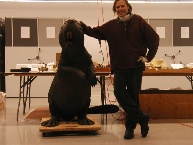 One model of the Giant Beaver. (Image by Ross Barnett)