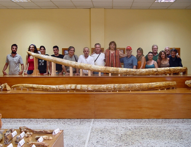 Two enormous tusks found in Greece